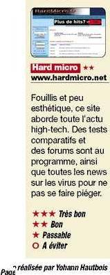 Hardmicro-fr : Dans le journal 20 minutes