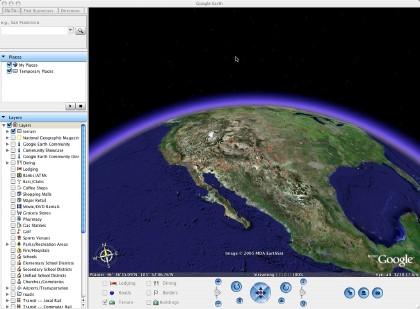 Vidéo de Google Earth et ses secrets