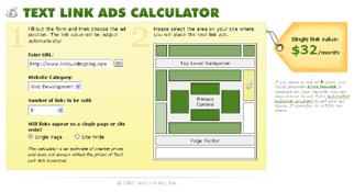 Combien vaut un lien sur votre site ?