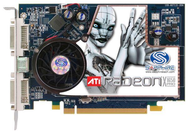 Test : Sapphire CrossFire Radeon X1650 Pro testé par Génération 3D