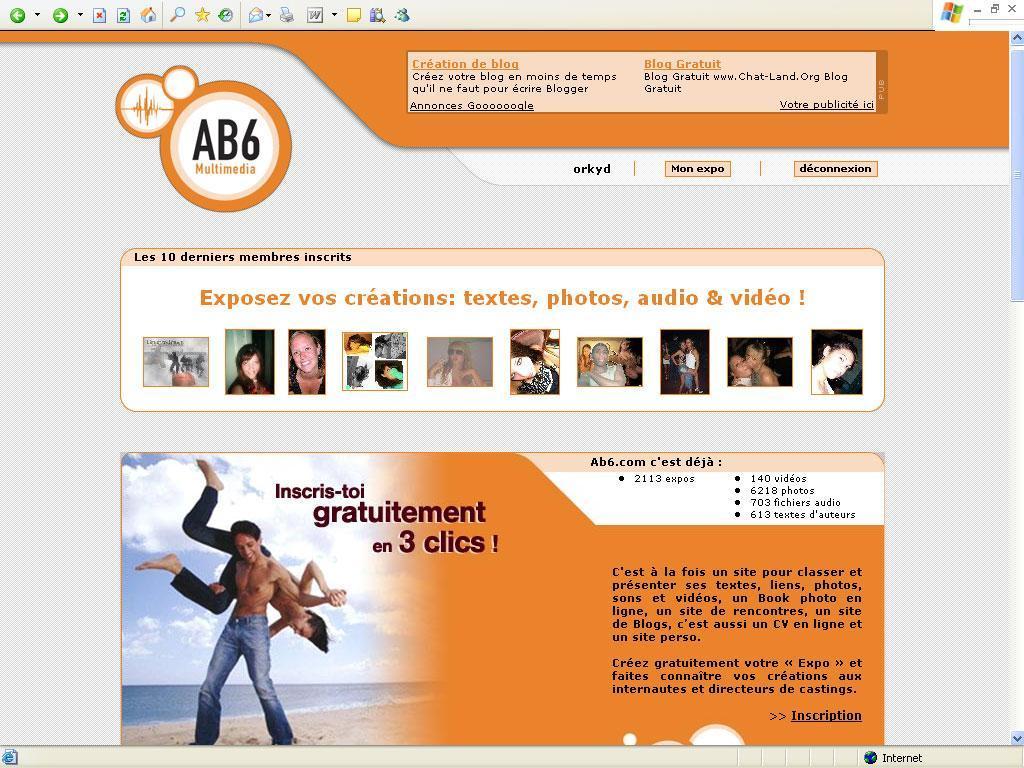 Interview du fondateur du site Ab6.com
