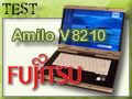 Test : PC portable Fujitsu Amilo V8210 sur le banc d'essai.
