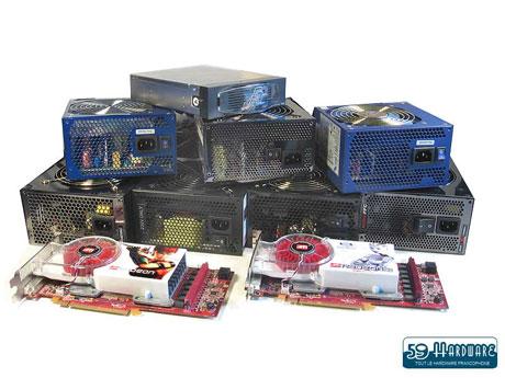Test : 9 alimentations compatibles Sli/Crossfire testées.