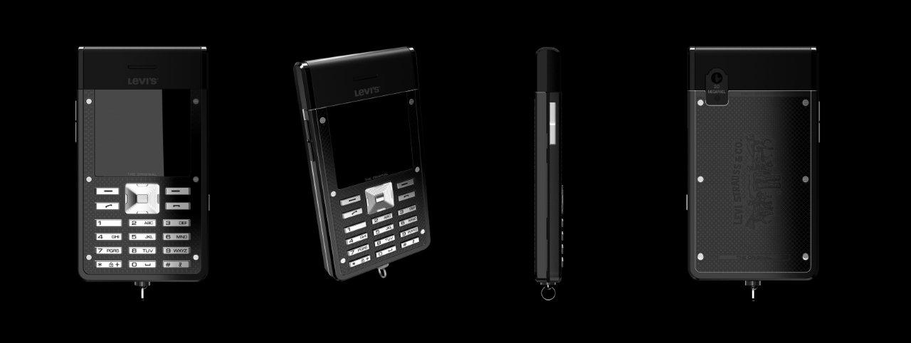 Nouveau : Levi's présente son téléphone mobile The Original.