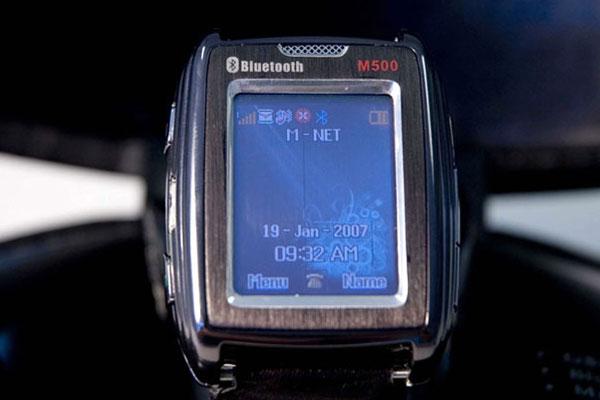 SMS Technology M500, le mobile-montre qui fait lecteur MP3.
