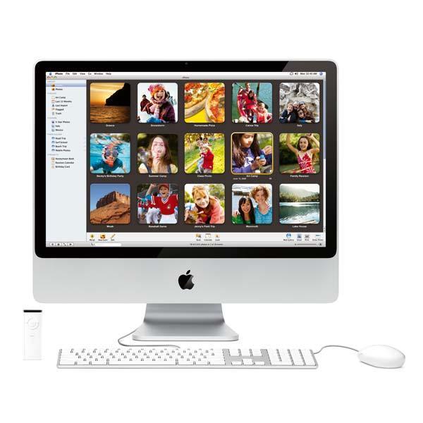 Test : Apple iMac 24 pouces chez Blogeek.