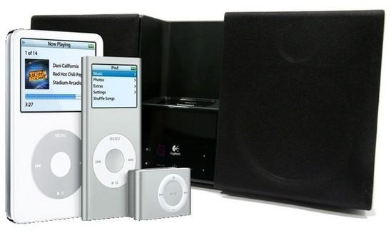 Comparatif de docks pour Apple iPod.