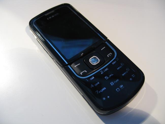 Test : Téléphone mobile Nokia 8600 Luna