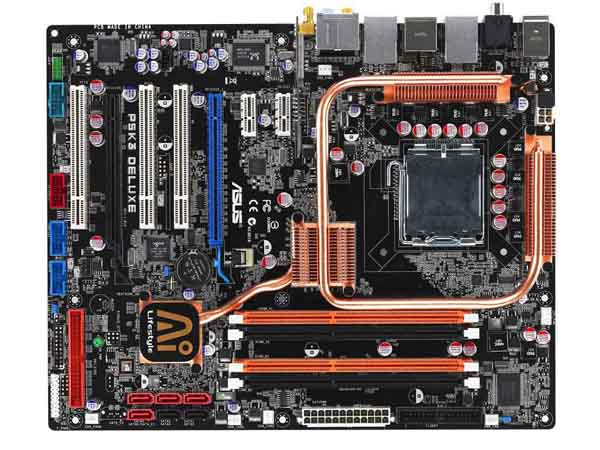 Test : 3 cartes mères Asus P35