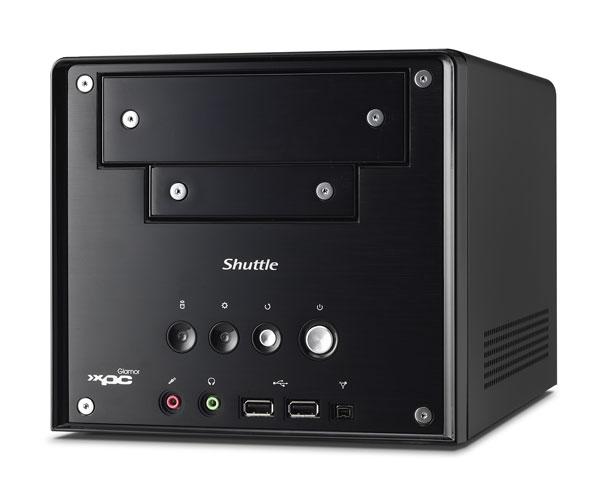 Test : Barebone (mini-PC) Shuttle SN68G2.