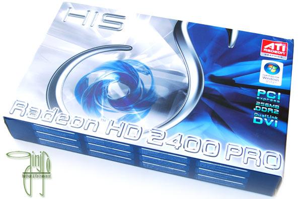 Test : Carte graphique HIS Radeon HD 2400 Pro 256 Mo