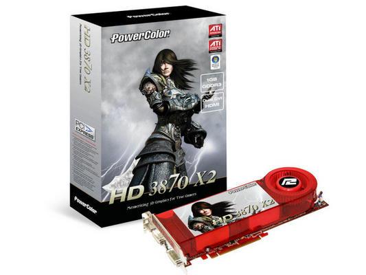 Test de la carte graphique AMD (ATI) Radeon HD 3870 X2