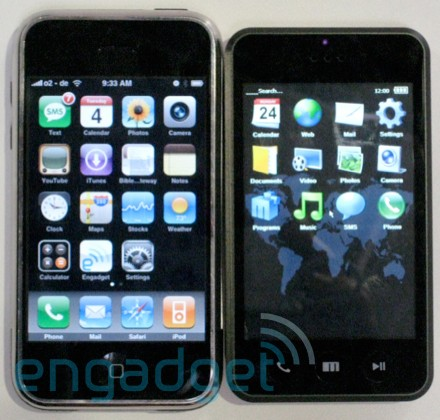 CeBit 2008 : Meizu M8 Mini One et son OS à la iPhone