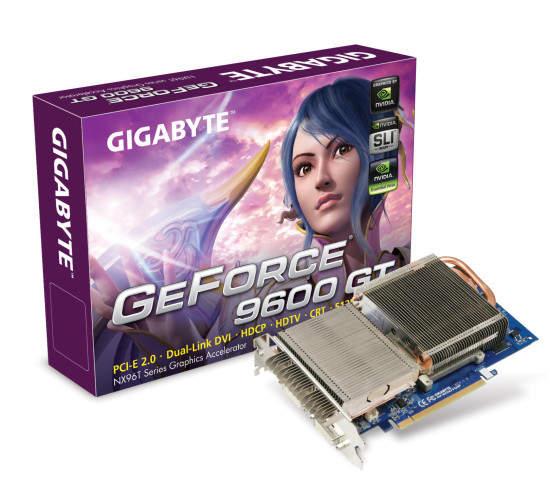 Test de la carte graphique Gigabyte 9600 GT 512 Mo