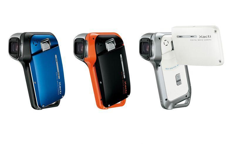 Sanyo Xacti DMX-CA8, mini-camescope waterproof