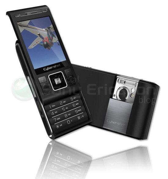 Le nouveau téléphone mobile Sony Ericsson C905 (Shiho) et ses 8,1 Mégapixels !!