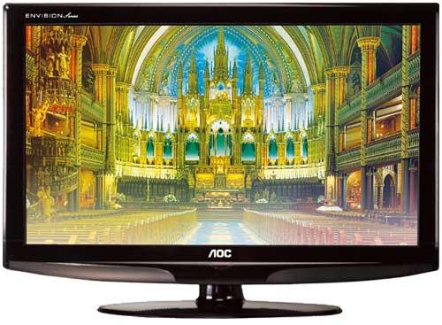 Nouvelles TV LCD AOC L19W861, L26W861 et L32W861