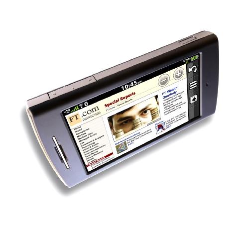 Photos du téléphone mobile GPS, Garmin nüvifone 1