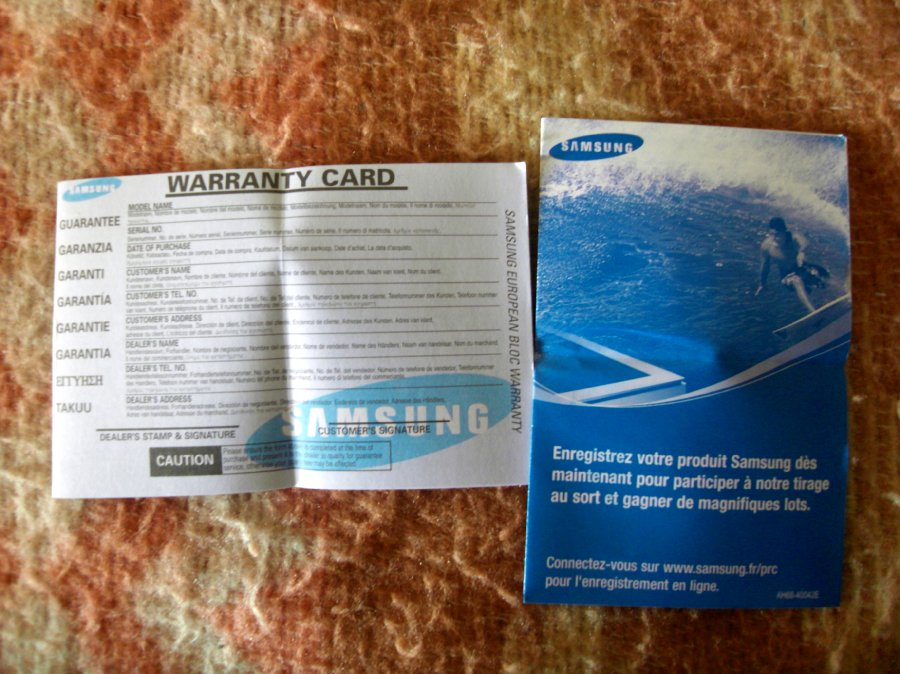 Photos du PMP (Baladeur Multimédia) Samsung Yepp YP-P2 7