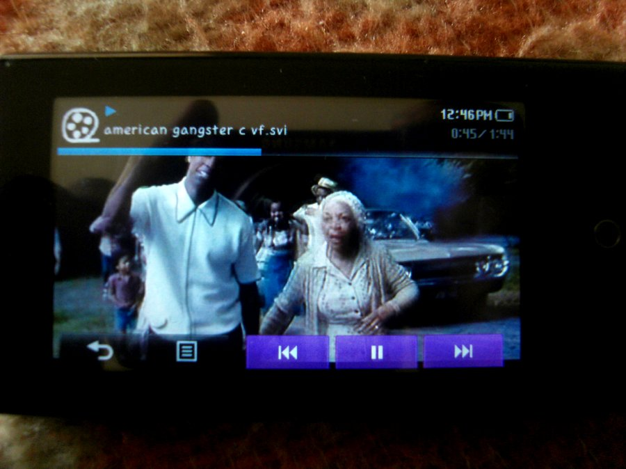 Photos du PMP (Baladeur Multimédia) Samsung Yepp YP-P2 25