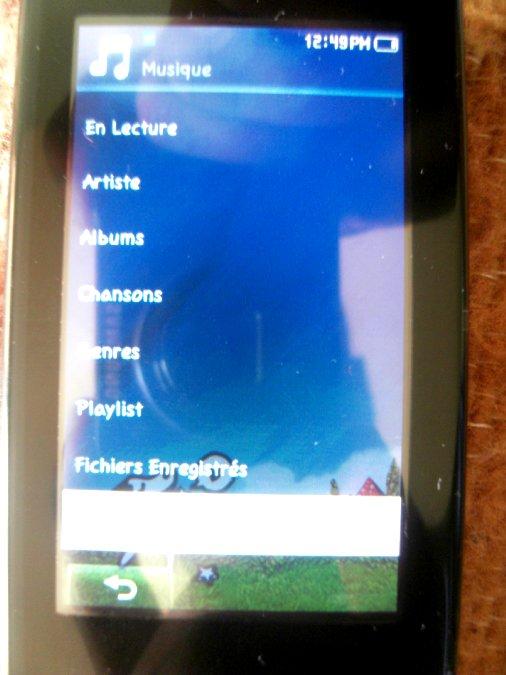 Photos du PMP (Baladeur Multimédia) Samsung Yepp YP-P2 28