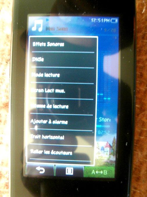 Photos du PMP (Baladeur Multimédia) Samsung Yepp YP-P2 30