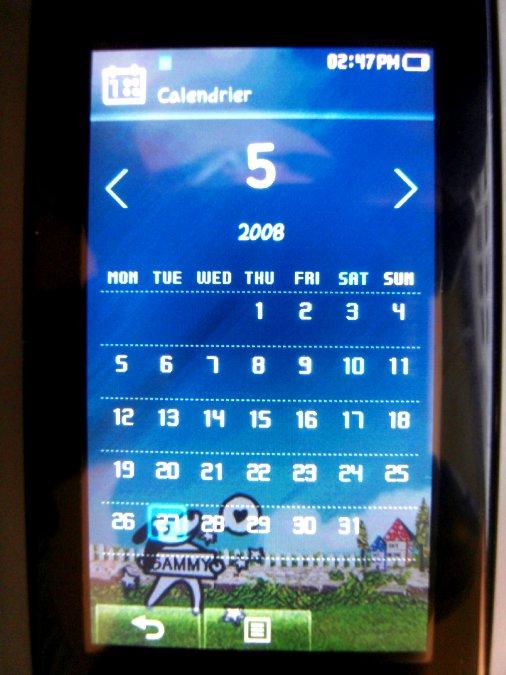 Photos du PMP (Baladeur Multimédia) Samsung Yepp YP-P2 43