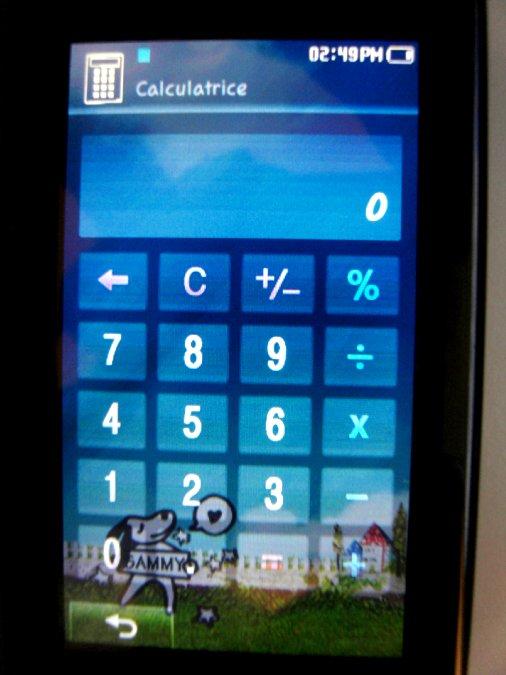 Photos du PMP (Baladeur Multimédia) Samsung Yepp YP-P2 46