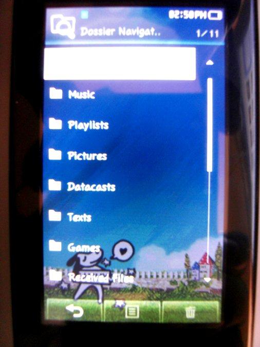 Photos du PMP (Baladeur Multimédia) Samsung Yepp YP-P2 47