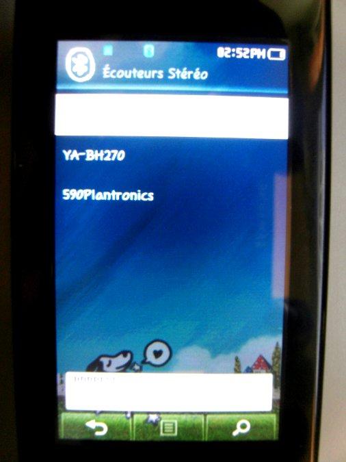 Photos du PMP (Baladeur Multimédia) Samsung Yepp YP-P2 50
