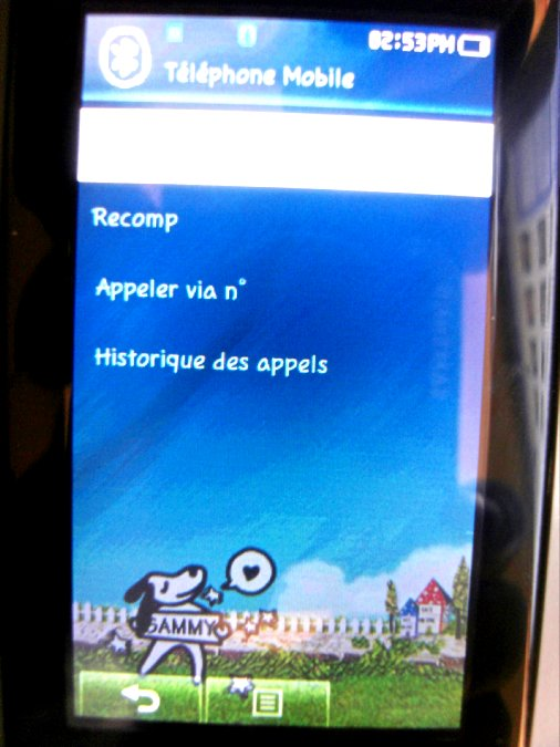 Photos du PMP (Baladeur Multimédia) Samsung Yepp YP-P2 51