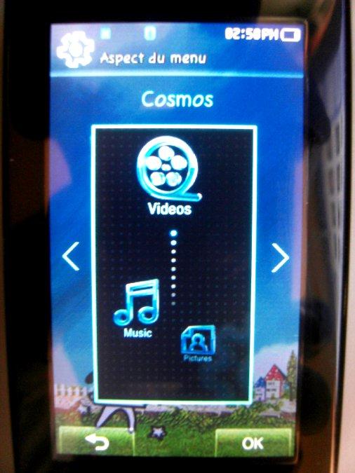 Photos du PMP (Baladeur Multimédia) Samsung Yepp YP-P2 57