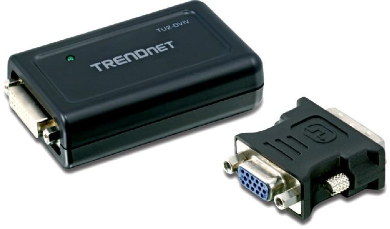 Photos du Convertisseur USB pour écran DVI/VGA, TRENDnet TU2-DVIV 1