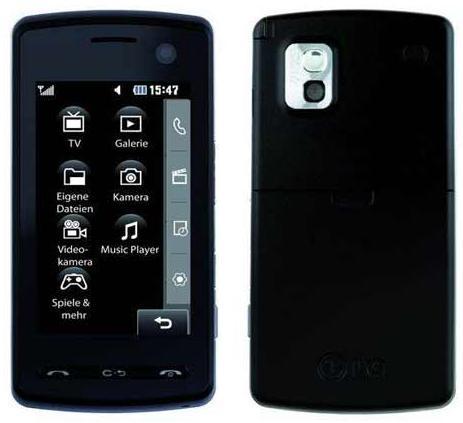 Nouveau LG KB770 tactile avec puce DVB-T DiBcom pour les chaînes TNT