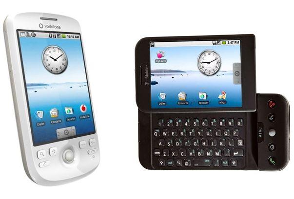 HTC Magic et HTC Dream : Google Android