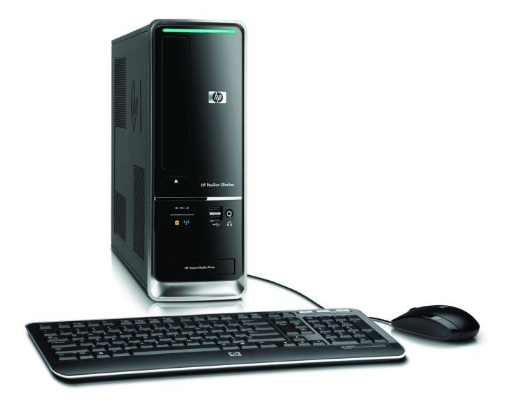 Nouveau PC de bureau, HP Pavilion Slimline s5100 1