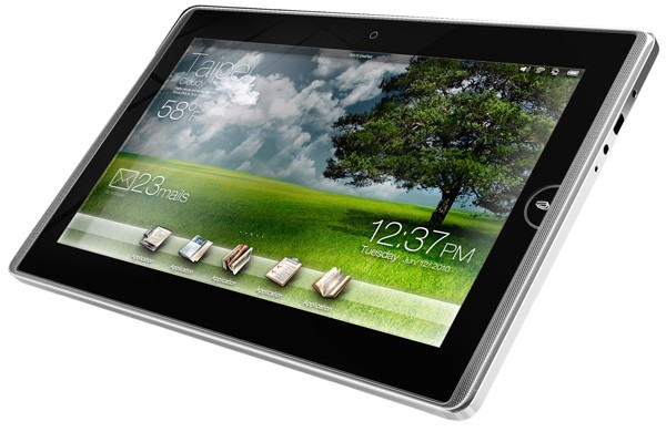 ASUS Eee Pad, nouvelle tablette tactile