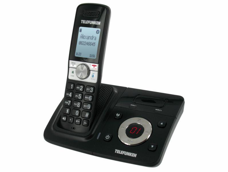 telefunken tx 100 retrouvez tous les contacts de votre mobile sur votre t l phone fixe le. Black Bedroom Furniture Sets. Home Design Ideas