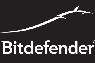 Logo Bitdefender - White on Black