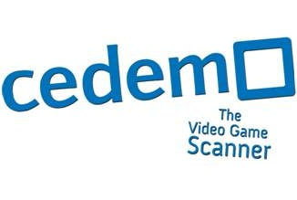 Logo Cedemo The Video Game Scanner