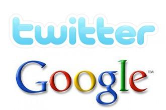 Logo Twitter-Google
