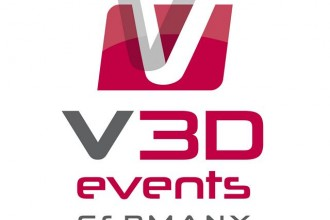 Logo V3D Events Germany