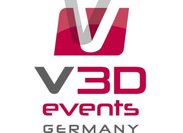 Logo V3D Events Germany