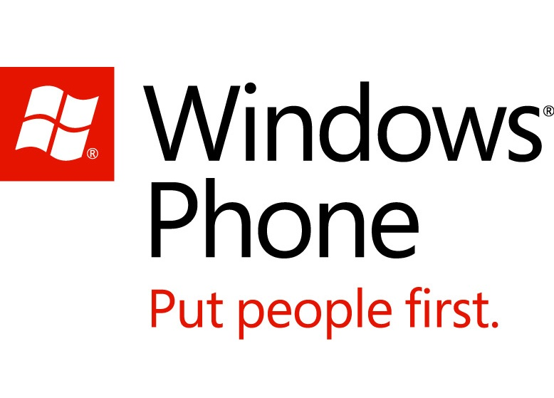 Logo Windows Phone - Put people first