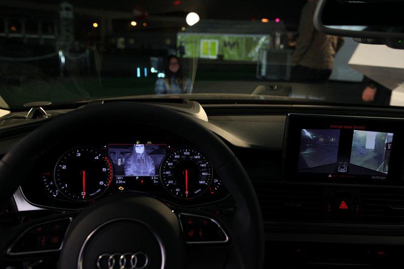 NVIDIA CES 2012 - Audi A7 avec NVIDIA Tegra