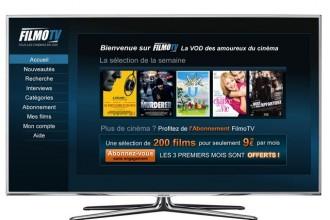 Samsung Smart TV et Filmo TV