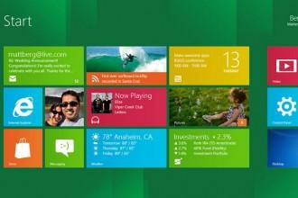 Windows 8 - Start Menu - Metro