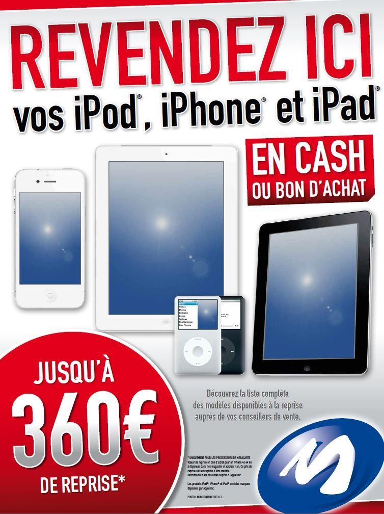 Capture Micromania iDevices - iPhone - iPad - iPod