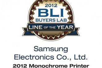Gamme d'imprimantes monochromes de l'année du Buyers Laboratory LLC (BLI)