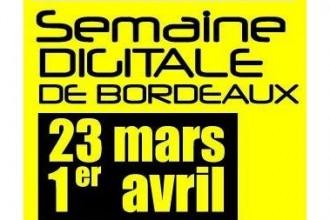 Logo Semaine Digitale de Bordeaux